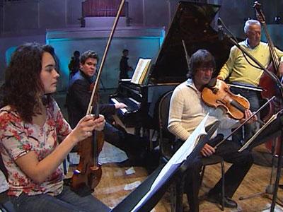 Состоялось выступление в Большом зале филармонии Алёны Баевой.
