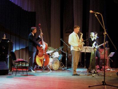 Третий концерт саксофониста – виртуоза и Международного молодежного симфонического оркестра.