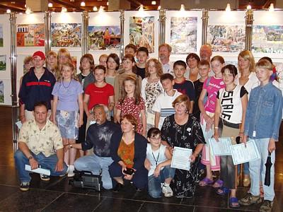 В Филармонии открылась выставка, посвященная 85-летию Мстислава Ростроповича.